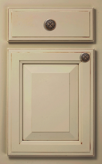 Rose Hall Square Door Style shown in Traditional Overlay